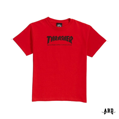 THRASHER SKATE MAG (YOUTH) TEE - RED