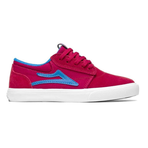 LAKAI GRIFFIN SUEDE (YOUTH) - RED/BLUE