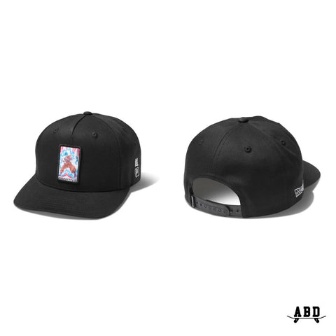 PRIMITIVE X DBZ SUPER CHAMPION ADJ CAP - BLACK