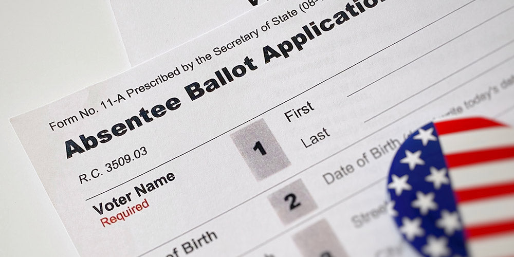 Stay Informed: Request your Absentee Ballot for Election Day Today!
