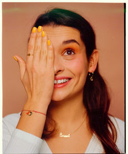 BAGUE SMILEY MATHILDE CABANAS & TITLEE