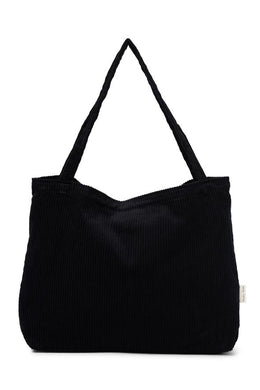 SAC MOM BAG MIDNIGHT VELOURS STUDIO NOOS