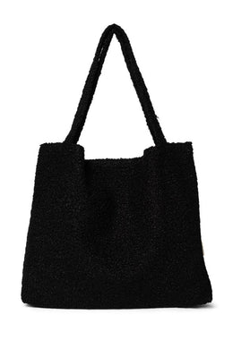 SAC MOM BAG BOUCLE BLACK STUDIO NOOS
