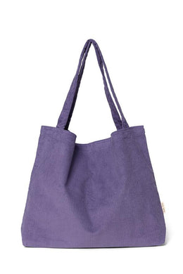 SAC MOM BAG PURPLE RAIN VELOURS STUDIO NOOS