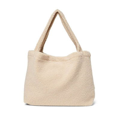 SAC MOM BAG CHUNKY TEDDY WHITE STUDIO NOOS