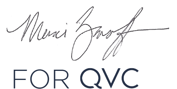 Marci Zaroff for QVC logo