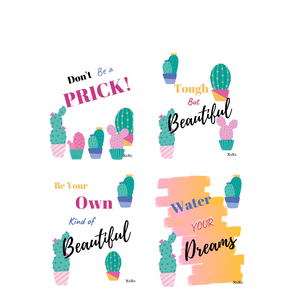 Fun Cactus Wall Art Printables