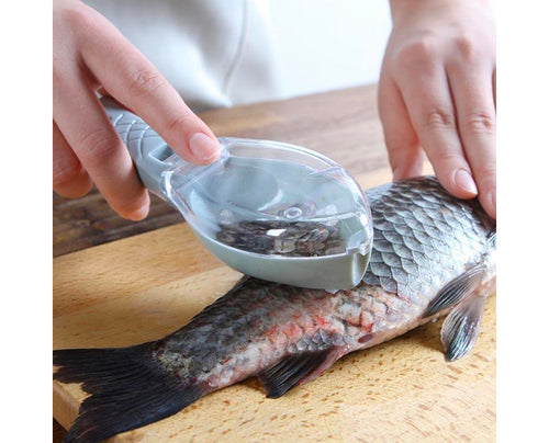 Mess-Free Fish Scale Remover