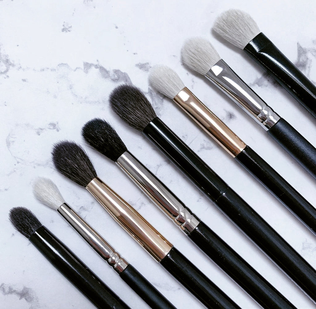 8pc Must Have Eye Makeup Brushes Set - Mehliza Beauty