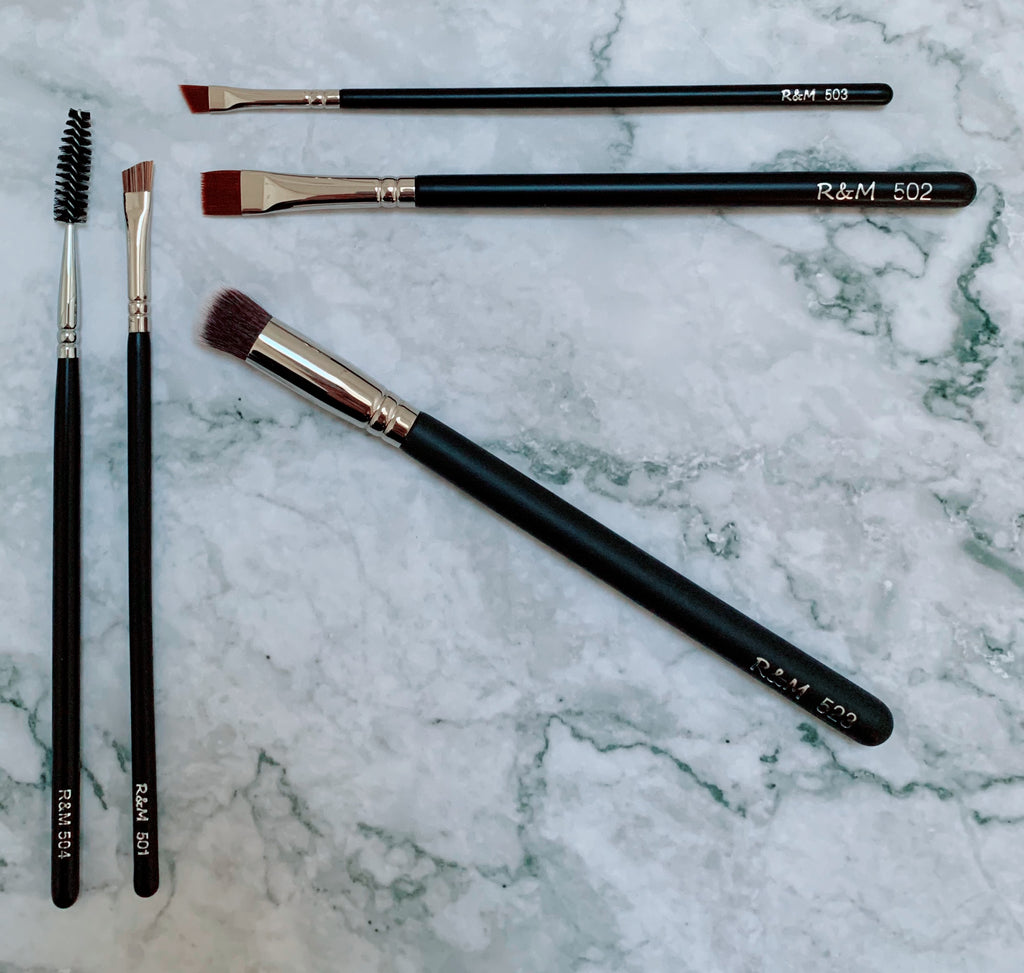 EYE BROWS MAKEUP BRUSH SET - Mehliza Beauty