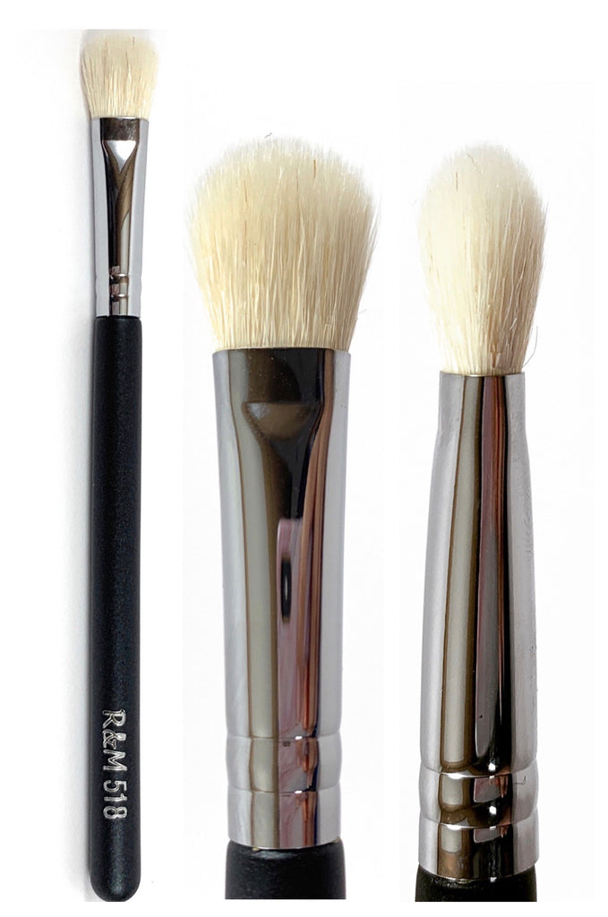 R&M 518 Paddle Shape eyeshader & Blending brush - Mehliza Beauty London