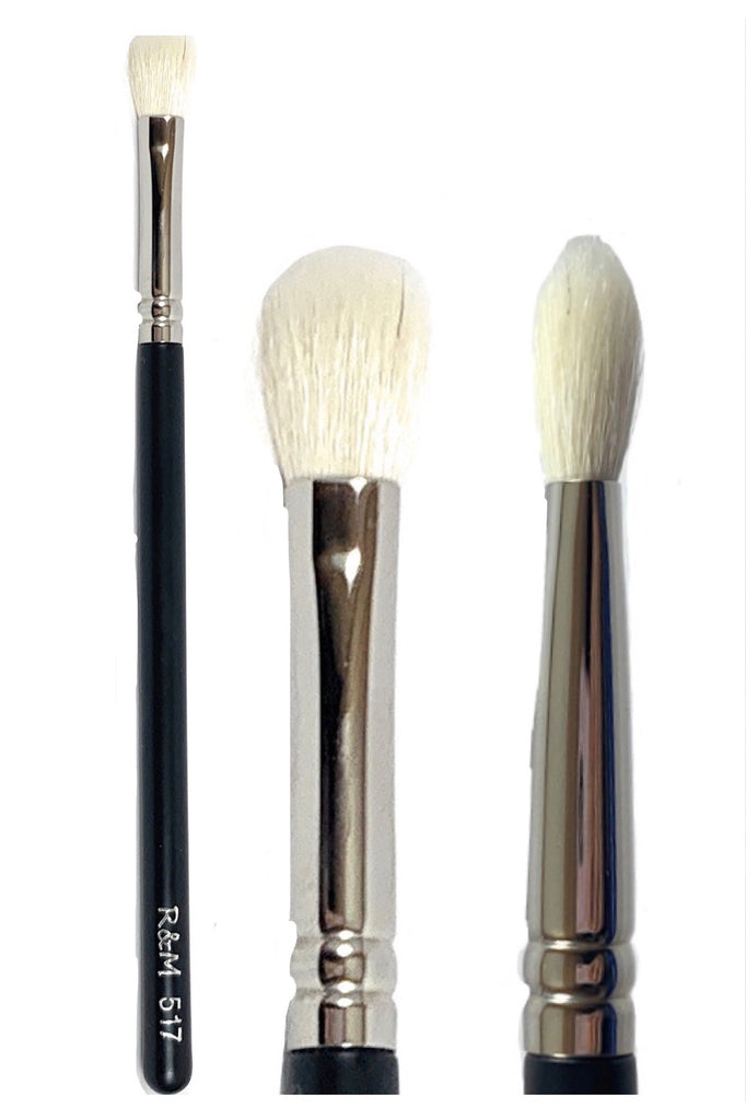 R&M 517 Ultra Soft Eyeshadow Blending brush - Mehliza Beauty London