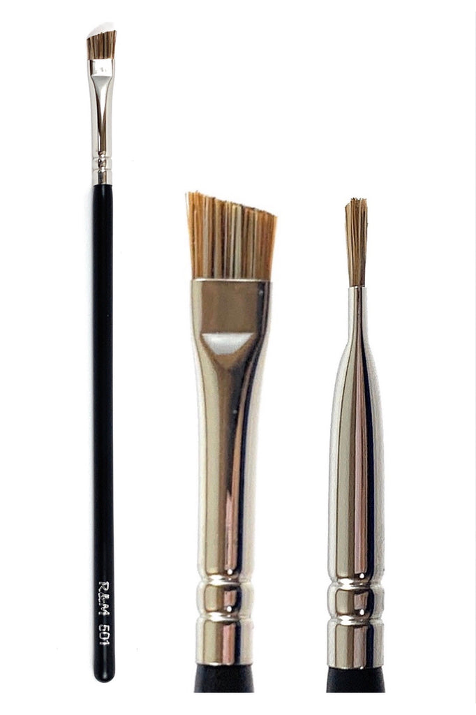 R&M 501 Angled Brow brush - Mehliza Beauty