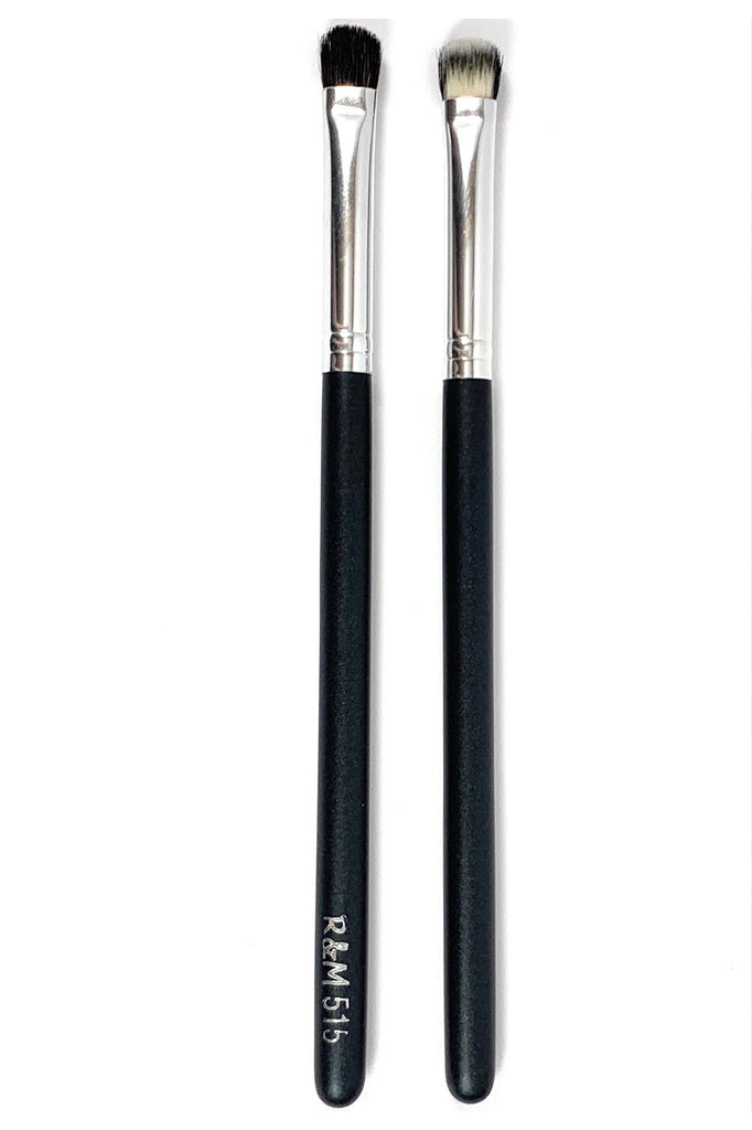 R&M 515 Split fibre eyeshadow brush - Mehliza Beauty London
