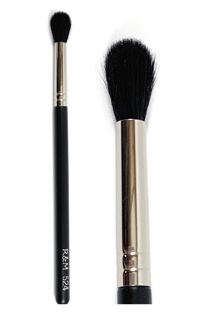 R&M 524 Fluff Round Crease Eyeshadow Blending brush - Mehliza Beauty London
