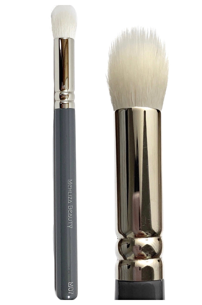 M07 Duo Fibre Buffing Concealer Brush - Mehliza Beauty London