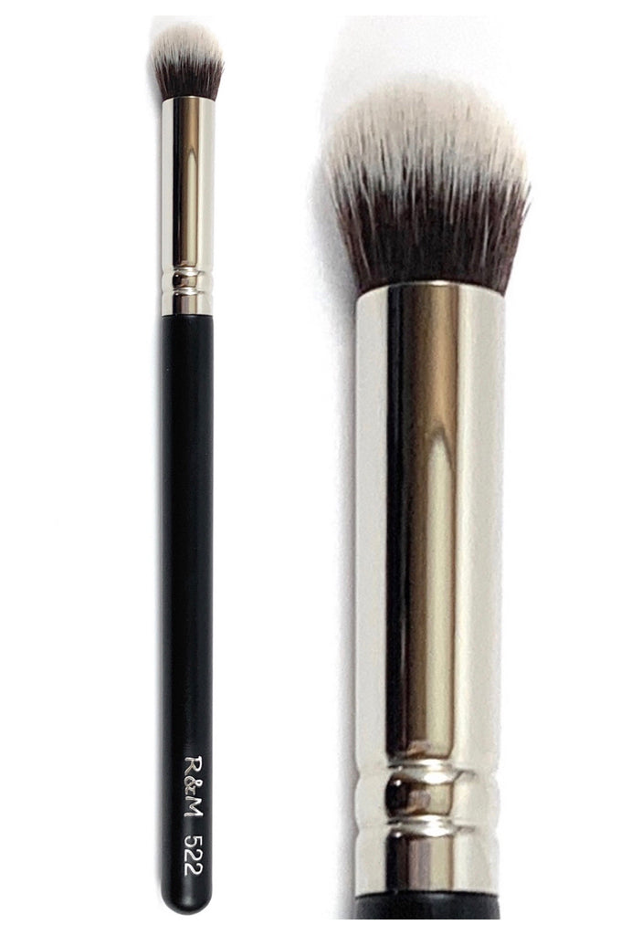R&M 522 Round Top Concealer makeup brush - Mehliza Beauty London