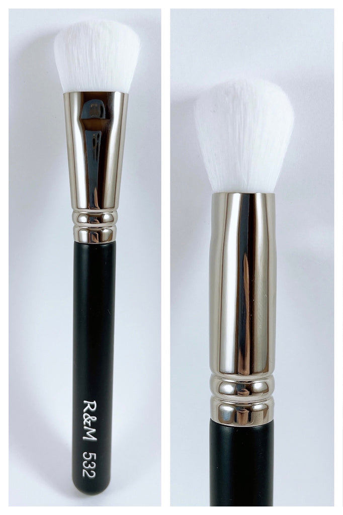 R&M 532 Precise Cheek brush - Mehliza Beauty London