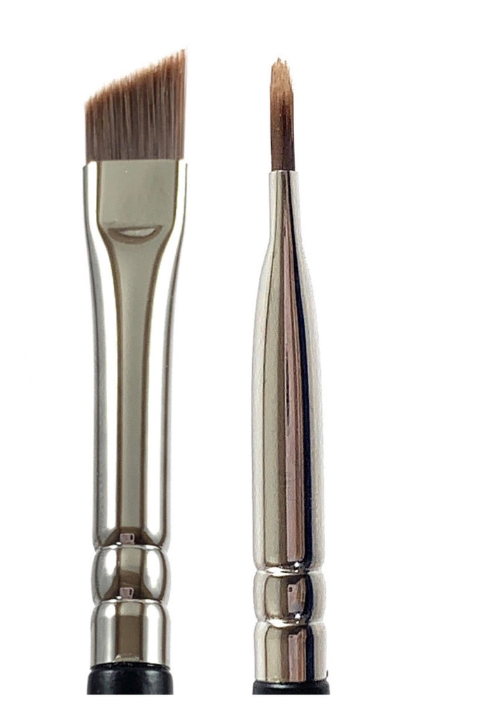 R&M 503 Sharp Small Angle Eye Brush - Mehliza Beauty London