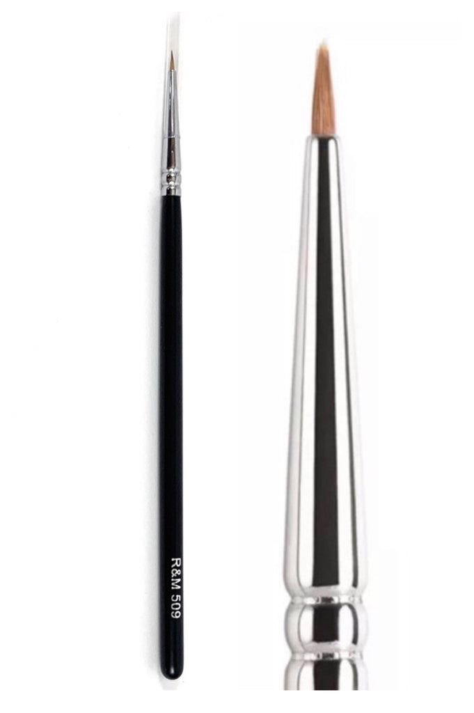 R&M 509 Fine Eyeliner brush - Mehliza Beauty London