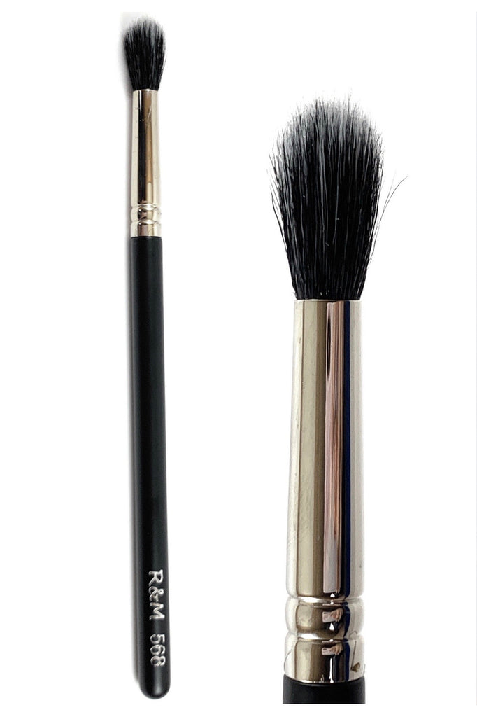 R&M 568 Duo Fibre Tapered Blending brush - Mehliza Beauty London