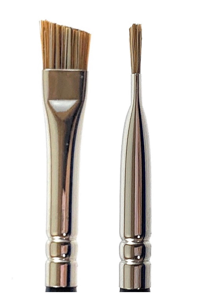 R&M 501 Angled Brow brush - Mehliza Beauty London