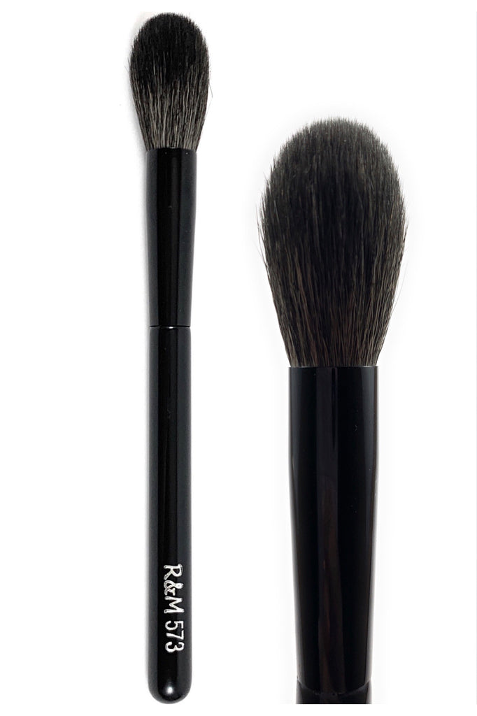 R&M 573 Tapered Powder Brush - Mehliza Beauty London