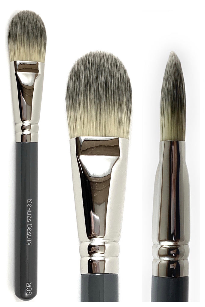 M08 Foundation Brush - Mehliza Beauty
