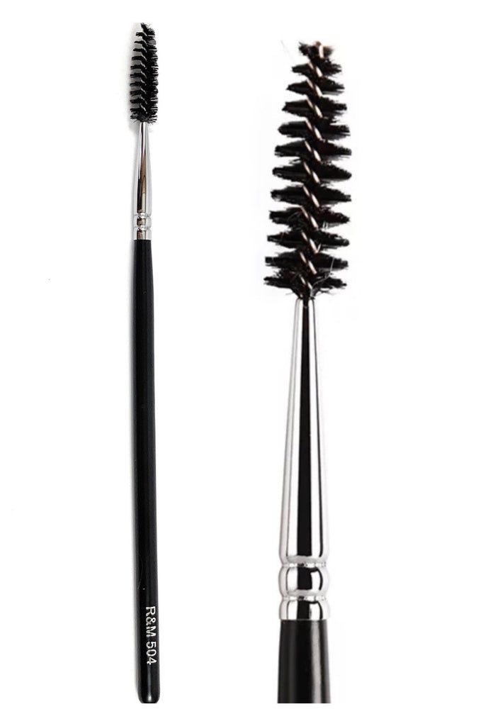 R&M 504 Lash Brow grooming Spoolie brush - Mehliza Beauty London