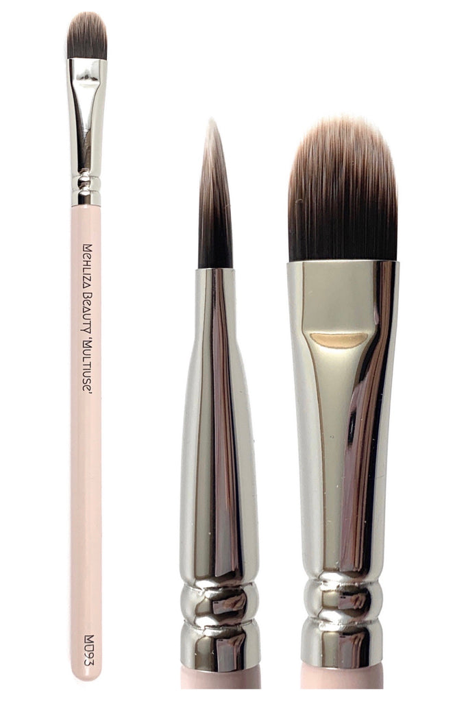 MU93 CUT CREASE BRUSH - Mehliza Beauty