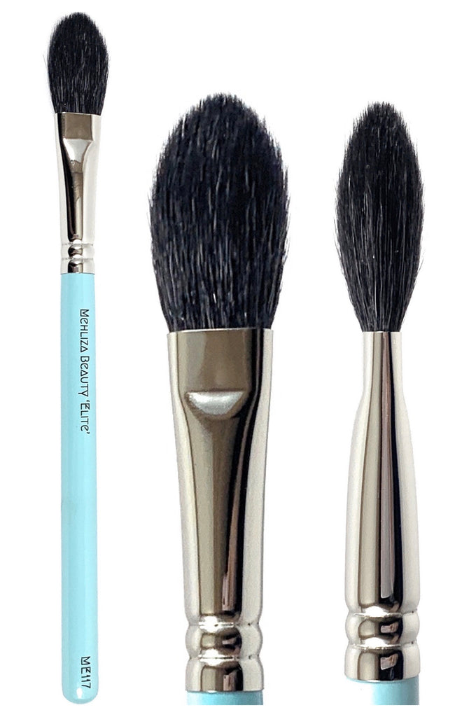 ME117 Highlighter/Blusher Brush - Mehliza Beauty