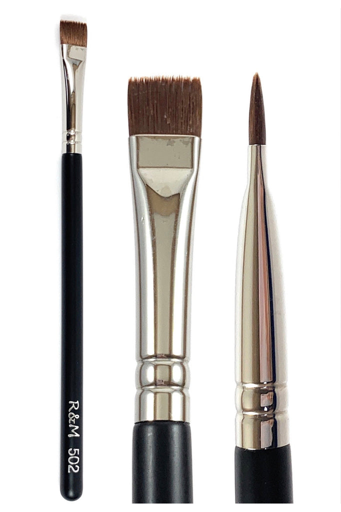 R&M 502 Flat Definer Brush - Mehliza Beauty
