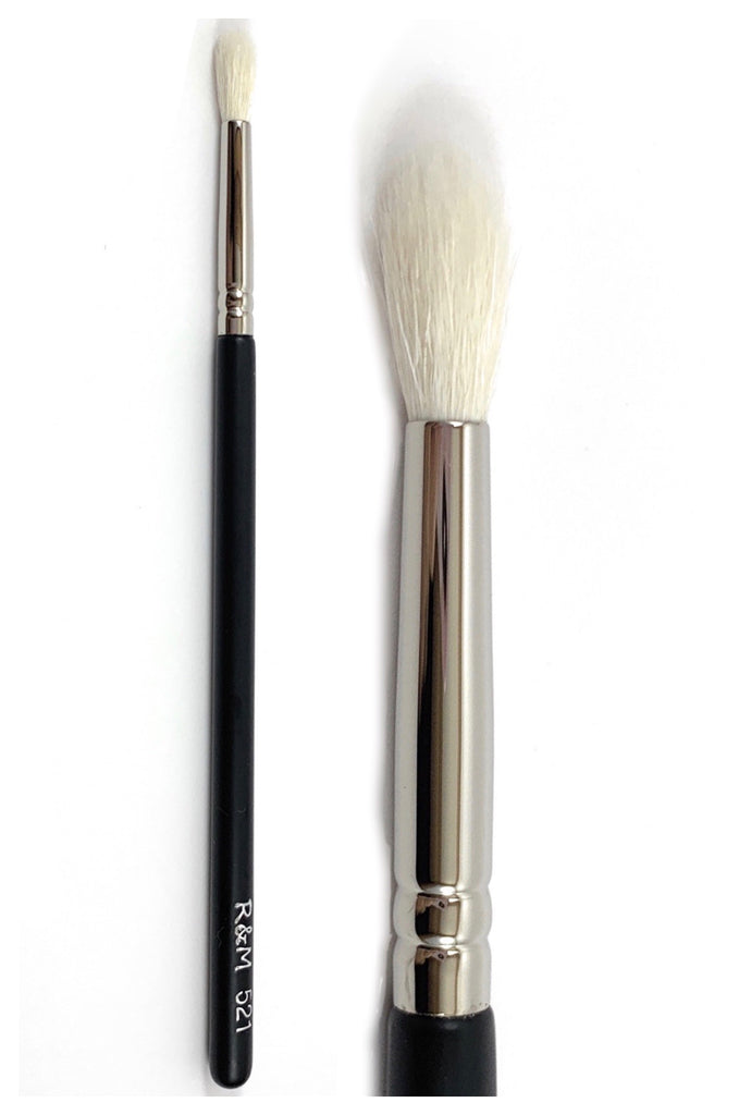 R&M 521 Mini Tapered Crease Blending brush - Mehliza Beauty London