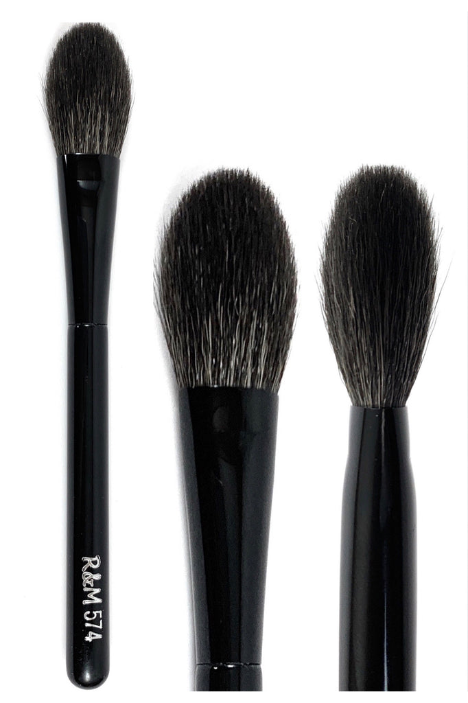 R&M 574 Setting Powder Brush - Mehliza Beauty London