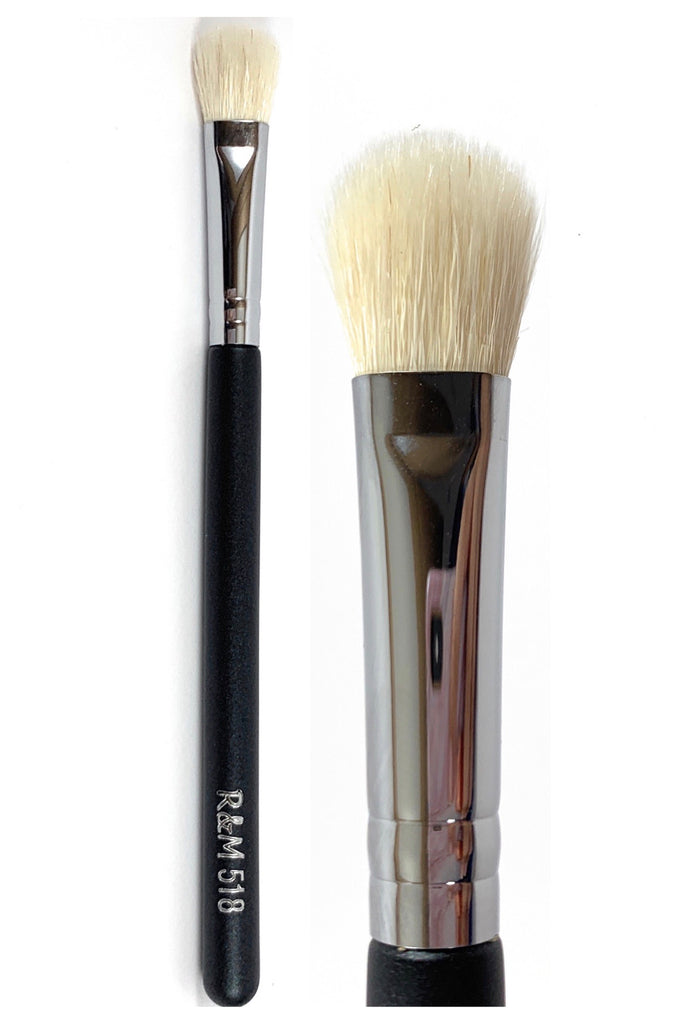 R&M 518 Paddle Shape eyeshader & Blending brush - Mehliza Beauty