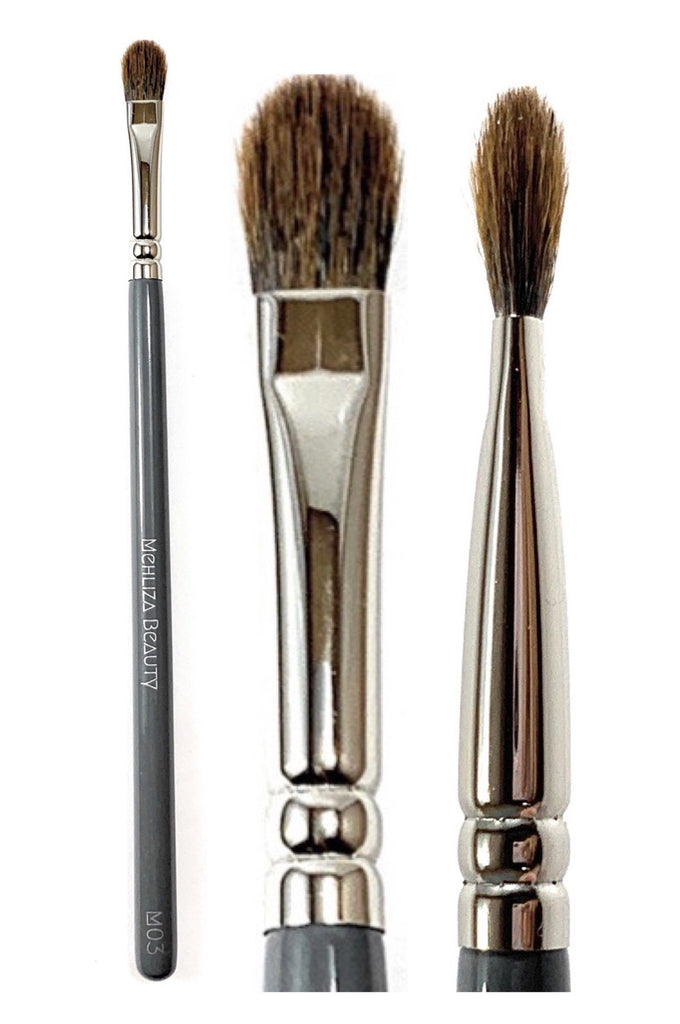 M03 Medium Flat Eyeshadow Brush - Mehliza Beauty London