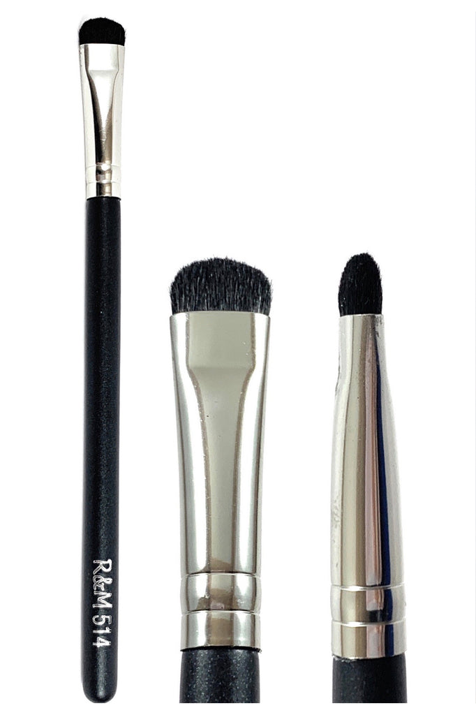 R&M 514 Short Eye Shader Brush - Mehliza Beauty