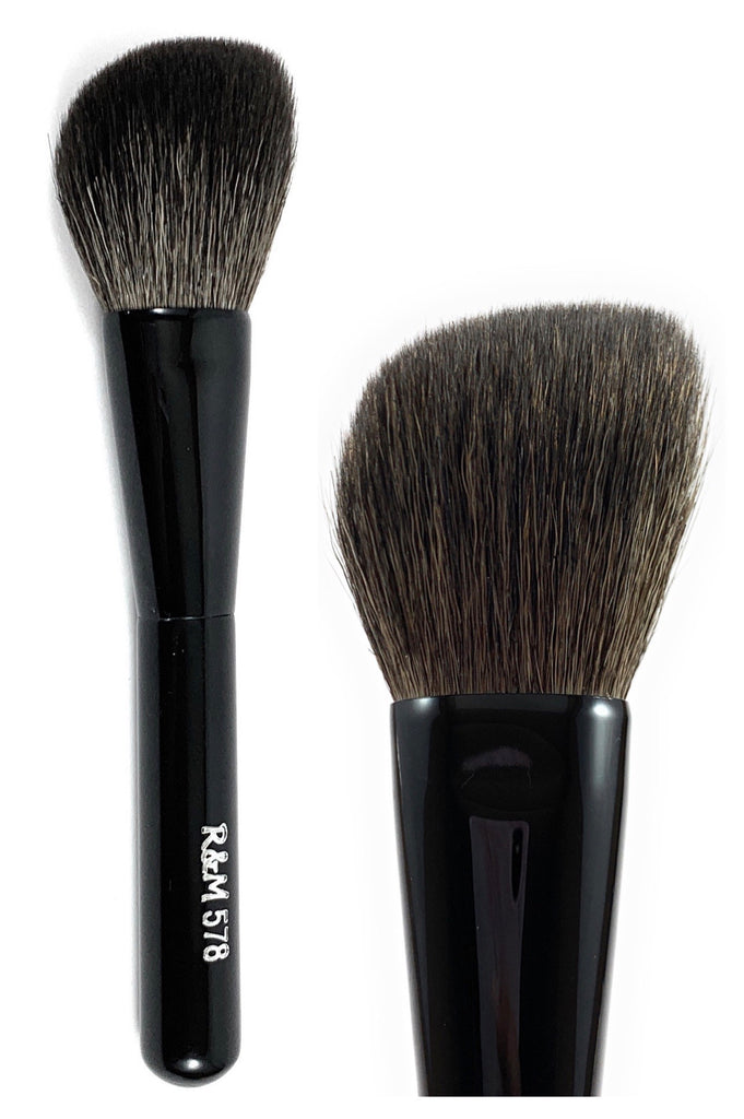 R&M 578 Angled Bronzer Brush - Mehliza Beauty London