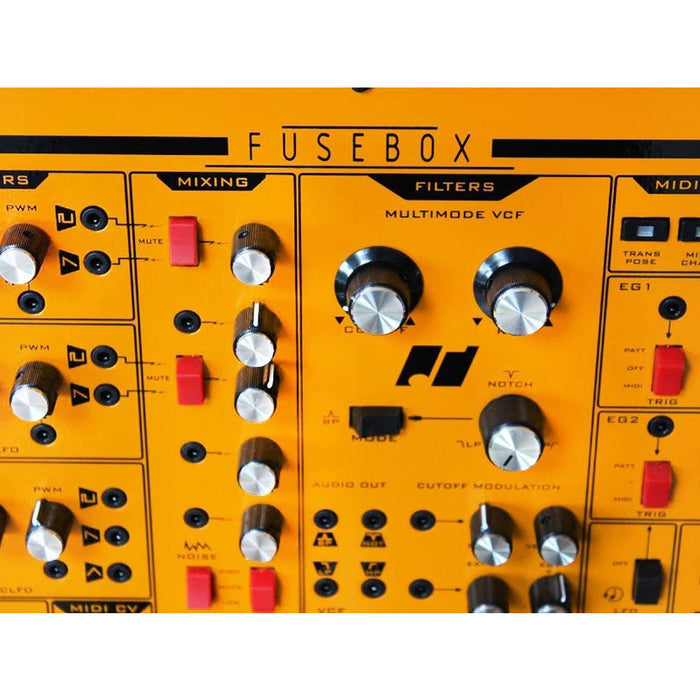 Analogue Solutions Fusebox - 3 VCO performance analogue synth