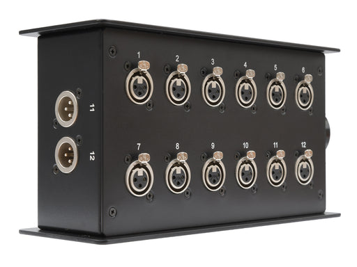 Custom Connex 12 Way Stage Box with LK Connector