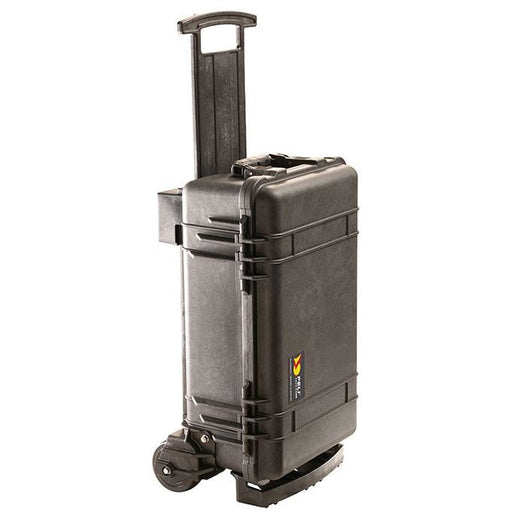 Peli 1510M - Case with foam, black, Mobility Case with large, heavy duty wheels, int dim 509 x 271 x 192 mm