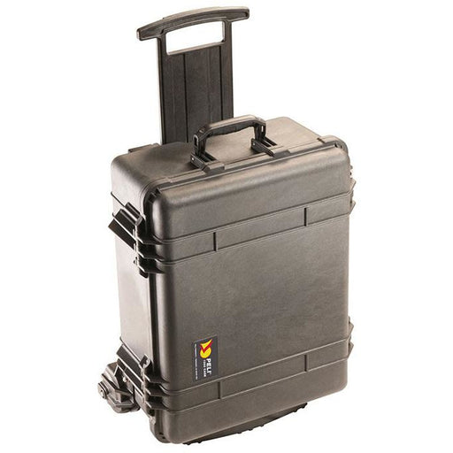 Peli 1560M - Case no foam, black, Mobility Case with large, heavy duty wheels, int dim 506 x 380 x 229 mm