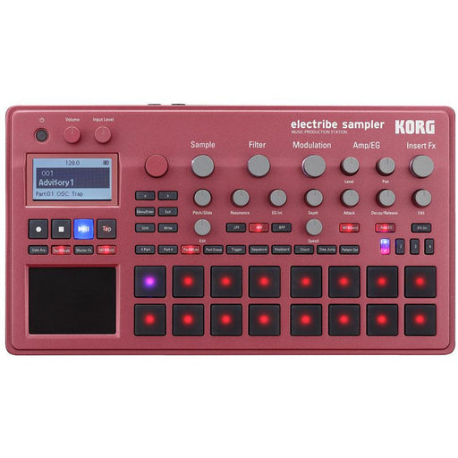 Korg Electribe Sampler EXS2-RD - Music Production Station