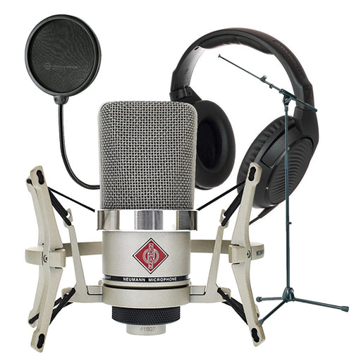 Neumann TLM102 Microphone Sennheiser HD200 Pro Headphone Bundle