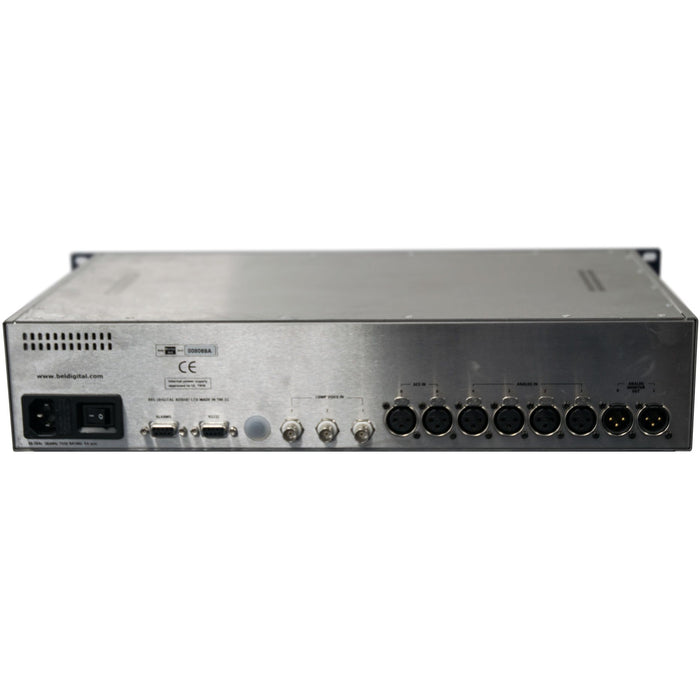 Bel BM-AV2 Broadcast Audio and video monitor 4 x analogue, 2 x AES and 3 x composite inputs 2U (used)