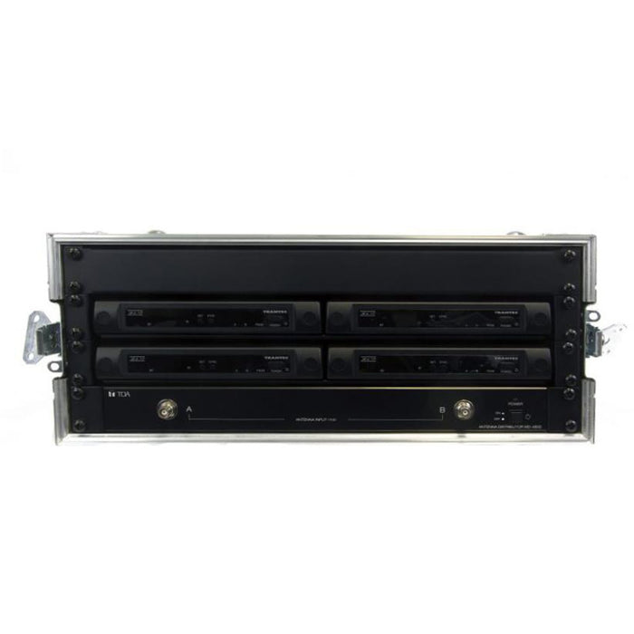 Trantec S4.10L-G3-RACK-8W - 8 x S4.10 systems complete with ADU, PSU, & Flight Case 6u