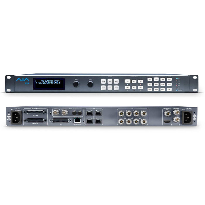 AJA FS4 - 1RU 4K/UltraHD/HD/SD frame sync and converter