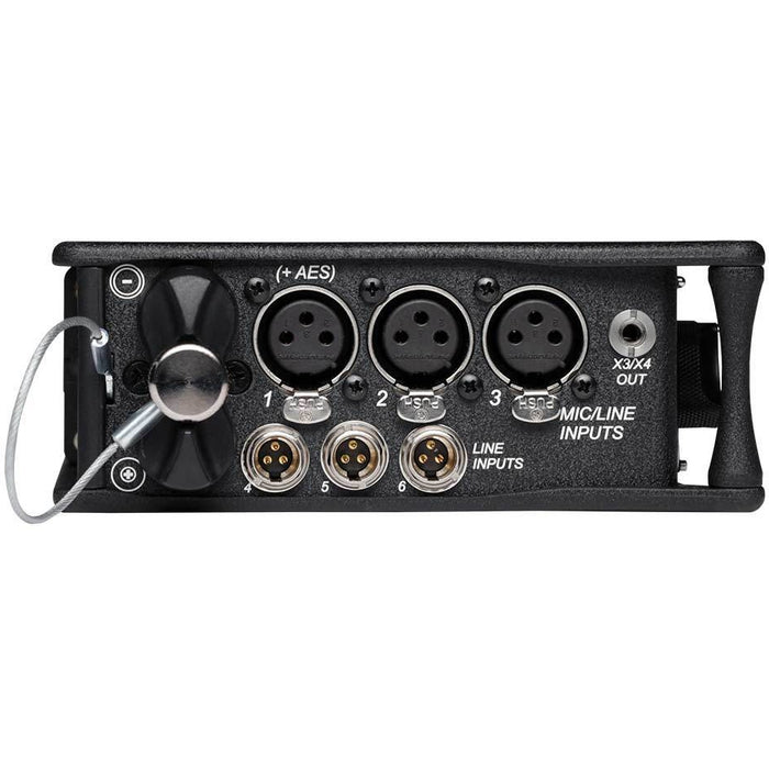 Sound Devices 633 - Six input Field Mixer Recorder with integrated 10-track recorder