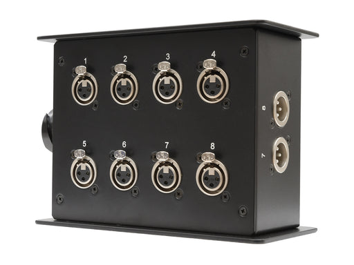 Custom Connex 8 Way Stage Box with LK Connector