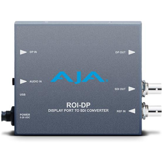 Aja ROI-DP - DisplayPort to SDI with Region of Interest scaling and DP loop through